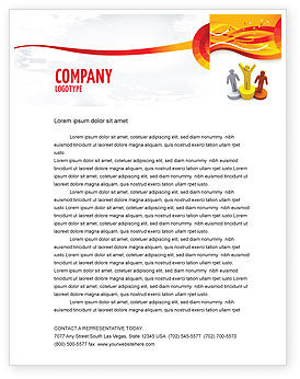 Consulting: First Prize Letterhead Template #03953
