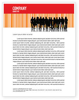 People: Sales Management Letterhead Template #03956