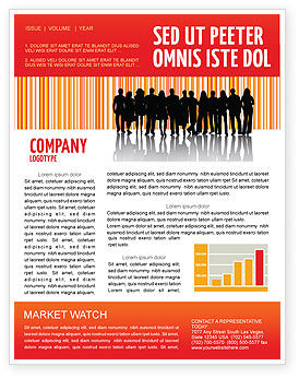 People: Sales Management Newsletter Template #03956