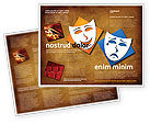 Art & Entertainment: Drama Brochure Template #03957