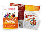 Education & Training: Eurosafe European Child Safety Alliance Brochure Template #03960