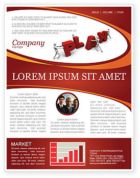 Consulting: Plan Newsletter Template #03966