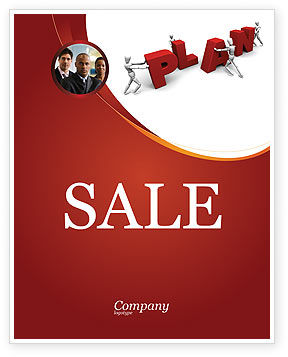 Consulting: Plan Sale Poster Template #03966