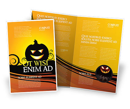 Halloween is Near Brochure Template