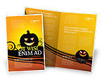 Holiday/Special Occasion: Halloween Is Dichtbij Brochure Template #03967