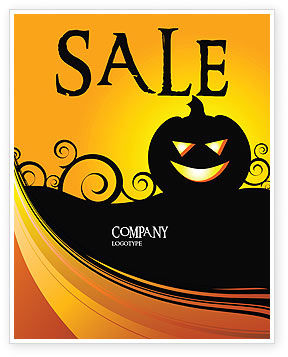 halloween is near sale poster template in microsoft word publisher