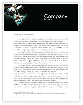 Medical: Major Surgery Letterhead Template #03979