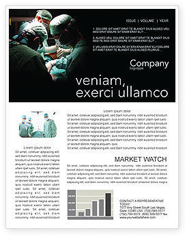 Medical: Major Surgery Newsletter Template #03979