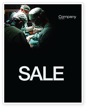Major Surgery Sale Poster Template, 03979, Medical — PoweredTemplate.com