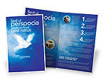 Religious/Spiritual: Peace Dove Brochure Template #03984