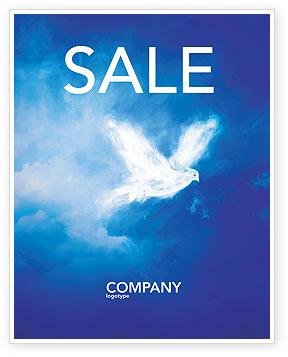 Peace Dove Sale Poster Template