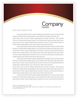 Medical: Blood Letterhead Template #03987