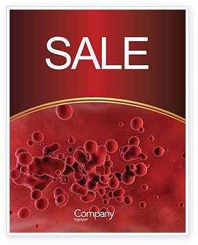 Blood Sale Poster Template