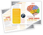 Medical: Cerebral Autoregulation Brochure Template #03988