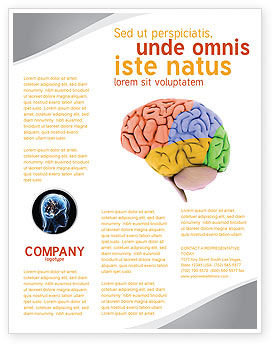 Cerebral Autoregulation Flyer Template, 03988, Medical — PoweredTemplate.com