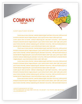 Cerebral Autoregulation Letterhead Template, 03988, Medical — PoweredTemplate.com