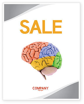 Cerebral Autoregulation Sale Poster Template, 03988, Medical — PoweredTemplate.com
