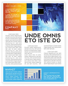 Financial/Accounting: Stock Prices Newsletter Template #03993