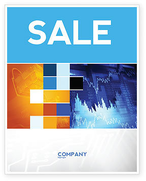 Financial/Accounting: Stock Prices Sale Poster Template #03993