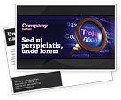 Technology, Science & Computers: Modello Cartolina - Virus informatico #03997