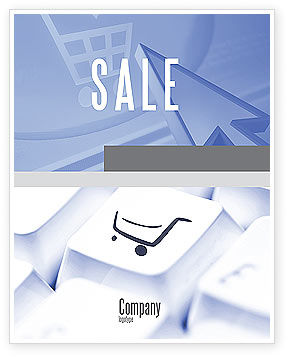 Shopping Cart Sale Poster Template, 03998, Careers/Industry — PoweredTemplate.com