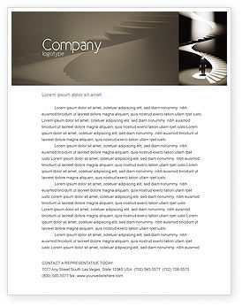Career Promotion Letterhead Template, 04005, Careers/Industry — PoweredTemplate.com