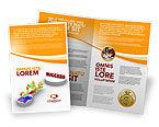 Business Concepts: Modèle de Brochure de pont vers le succès #04006