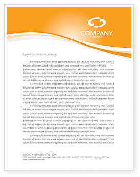 Business Concepts: Bridge To Success Letterhead Template #04006