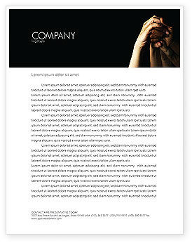 Emotional Support Letterhead Template, 04007, Religious/Spiritual — PoweredTemplate.com