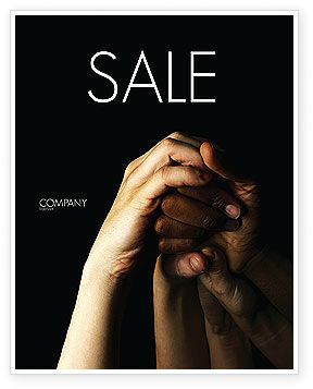 Religious/Spiritual: Emotional Support Sale Poster Template #04007
