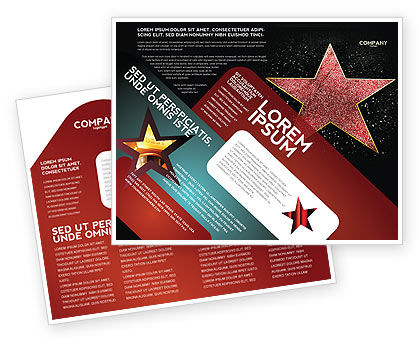 Careers/Industry: Walk of Fame Brochure Template #04009