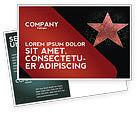 Careers/Industry: Walk of Fame Postcard Template #04009