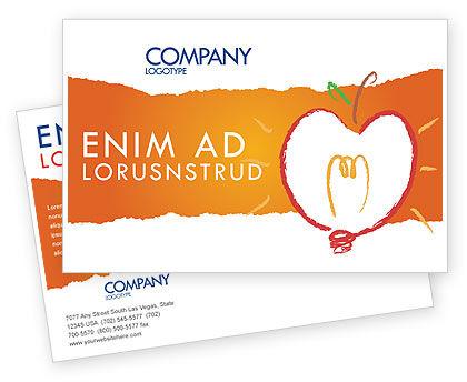 Business Concepts: Comprehension Postcard Template #04016