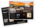 Nature & Environment: Extreme Expedition Brochure Template #04023