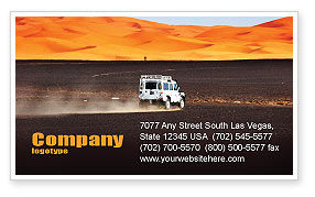 Nature & Environment: Extreme Expedition Business Card Template #04023