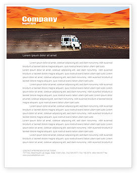 Extreme Expedition Letterhead Template, 04023, Nature & Environment — PoweredTemplate.com