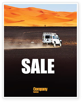 Nature & Environment: Extreme Expedition Sale Poster Template #04023