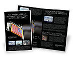 Military: American Armed Forces Brochure Template #04026