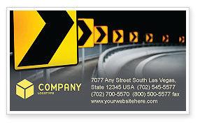 Construction: ロードリフレクター - 名刺テンプレート #04032