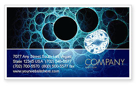 Porous Tissue Business Card Template, 04035, Abstract/Textures — PoweredTemplate.com