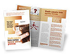 Consulting: Help Key Brochure Template #04037
