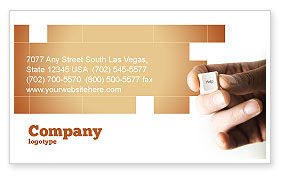Consulting: Help Key Business Card Template #04037
