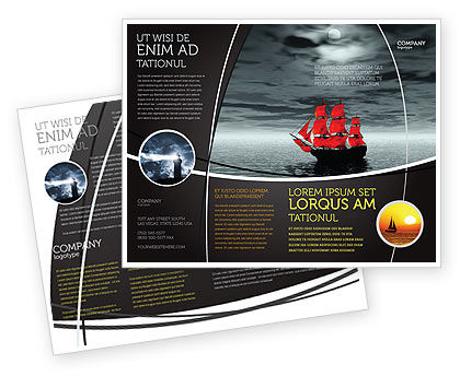 Scarlet Sails Brochure Template