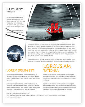 Scarlet Sails Flyer Template