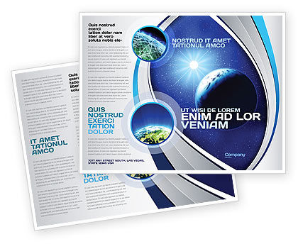 Luminary Brochure Template, 04043, Nature & Environment — PoweredTemplate.com