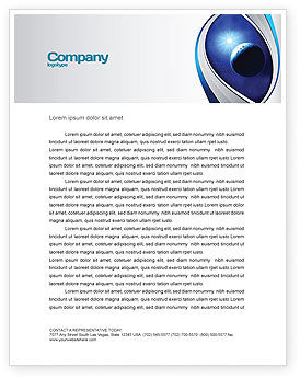 Nature & Environment: Luminary Letterhead Template #04043