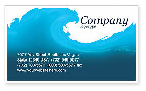 Abstract/Textures: Wave Business Card Template #04052