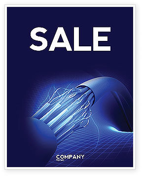 Telecommunication: Multifilament Wire Sale Poster Template #04055