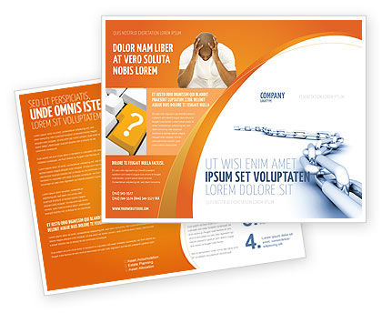 Business Concepts: Chain Brochure Template #04056