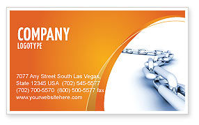 Chain Business Card Template